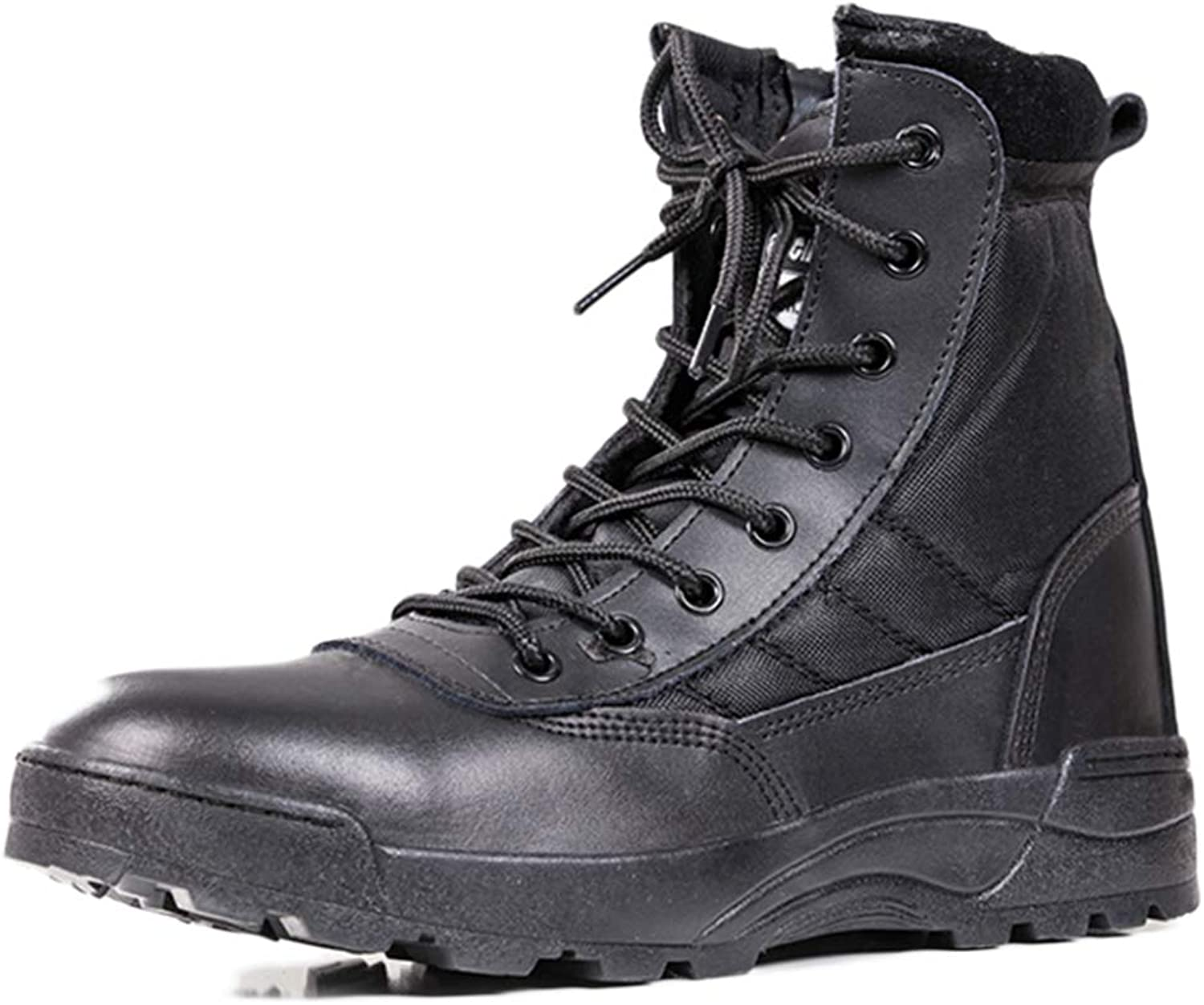 Men's Lace Ups Combat Boots Outdoor High Tops Army Military Boots Tactical Boots Camping Climbing shoes Special Forces Ankle Boot