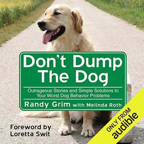 Don't Dump the Dog audiobook cover art
