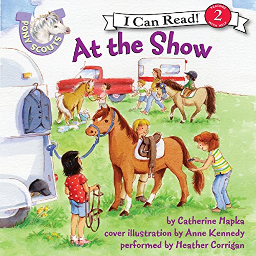 Pony Scouts: At the Show audiobook cover art