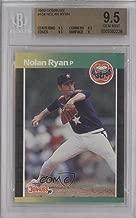 Nolan Ryan Graded BGS 9.5 GEM MINT (Baseball Card) 1989 Donruss - [Base] #154