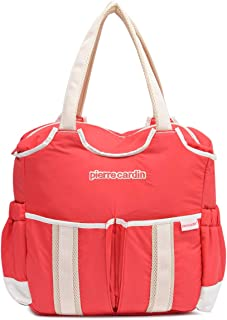 Pierre Cardin PB88145 Baby Diaper Bag, Red