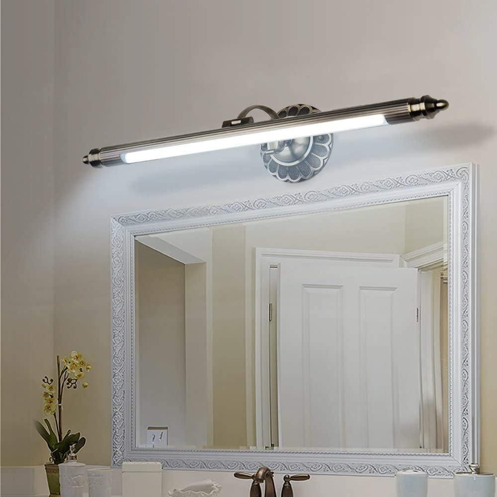 Elinkume Hochwertige Retro LED Spiegelleuchte 20W Rostfreie ...
