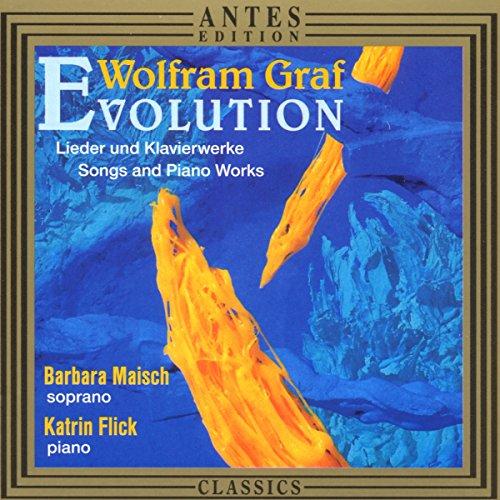 Wolfram Graf: Evolution - Lieder und Klavierwerke - 12 Lieder nach Hermann Hesse, Manfred Krüger & Lea van der Pals / Evolution I & II für Klavier
