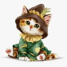 5D Diamond Painting Kit by Numbers DIY Crystal Rhinestone Cross Stitch Embroidery Arts Craft Picture Supplies for Home Wall Decor,Cute Cat - 11.8x11.8 inches