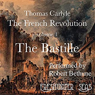The French Revolution, Volume 1 audiobook cover art