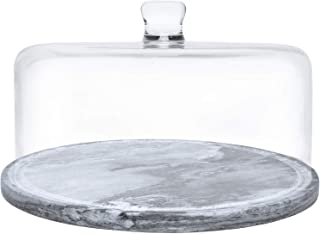 Kota Japan Premium Non-Stick Natural Marble Stone Cake Plate and Tray | Easy to Clean | Stays Cool