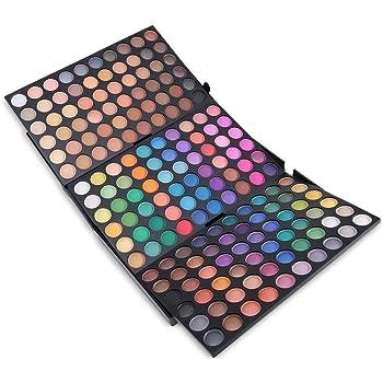 Paleta de Sombras de Ojos 180 Colores de Maquillaje Set Kit de alta Calidad Cosmético #2: Amazon.es: Belleza