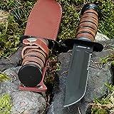 KanDar 2202-2 • FESTSTEHENDE Messer JAGDMESSER • Gesamtlänge: 303mm • FTM-de.