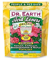 Dr. Earth 703P Organic 4 Azalea/Camellia/Rhododendron Acid Fertilizer