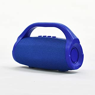 Wireless Portable Bluetooth Speaker, Small God of War Subwoofer Outdoor Portable Series Speaker,Blue