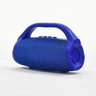 Wireless Portable Bluetooth Speaker, Small God of War Subwoofer Outdoor Portable Series Speaker,Blue