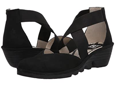 FLY LONDON PACO147FLY (Black Cupido) Women
