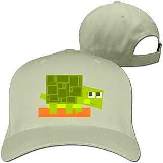 Turtle Vector Graphics Cute Adjustable Plain Unisex Snapback Hats Vintage Cap