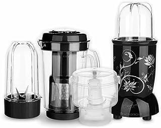 Nutri-Blend Complete Kitchen Machine, 22000 RPM Mixer-Grinder, Blender, Chopper, Juicer, SS Blades, 4 Unbreakable Jars, 2 ...