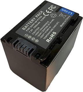 Hubei 7.3V 1900mAh NP-FV70A Batería de Repuesto para videocámara para Sony NP-FV30 NP-FV50 NP-FV50A NP-FV70 NP-FV70A NP-FV100 NP-FV100A Series