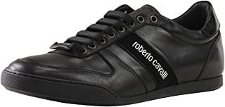 Men's Versione B Black Sneakers Shoes Sz: 8
