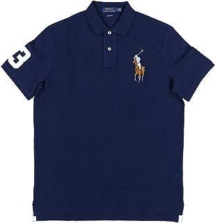 Polo Ralph Lauren Mens Big and Tall Mesh Big Pony Polo Shirt