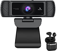 1080P AutoFocus Webcam with Wireless Earbuds, NexiGo FHD USB Web Camera with Microphone & Privacy Cover, Active Noise Canc...