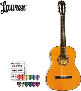 Lauren Classical Acoustic Guitar (LA100C) with ChromaCast/GoDpsMusic Pick Sampler