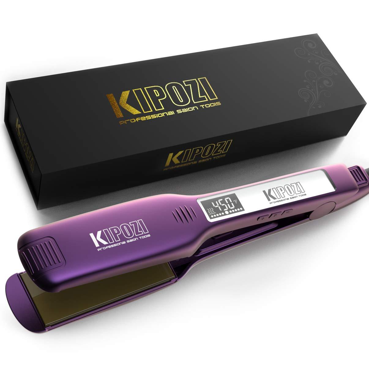 KIPOZI Professional Straightener Adjustable Temperature