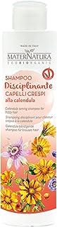 Maternatura Shampoo Capelli Crespi alla Calendula, Beauty Routine Capelli Crespi - 250 Ml