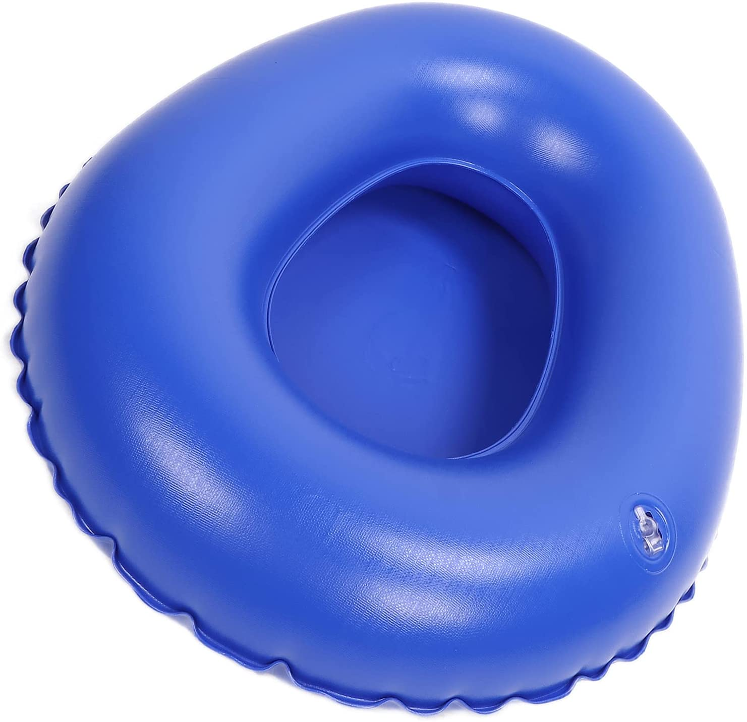 SALUTUY Portable Air Bedpan Small Portative Ranking TOP4 Translated Compact Nflata Blue