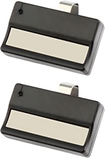 2 for Liftmaster 61LM Garage Door Remote Opener (1984-1993) Dip Switch - 300-400Mhz