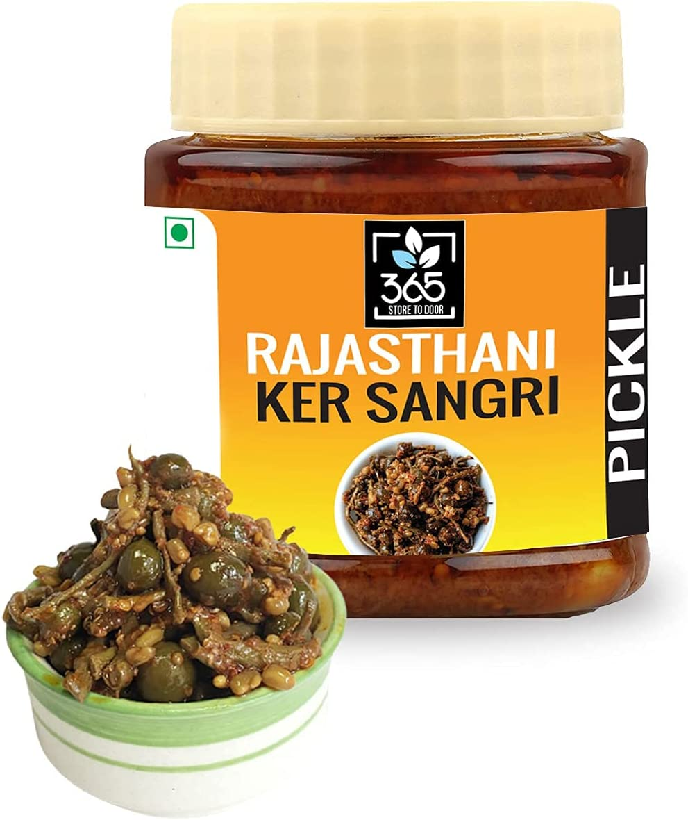 Carlos 365 Store to Door Rajasthani Mar Max 64% OFF Pickle sangri Ker 500g 70% OFF Outlet
