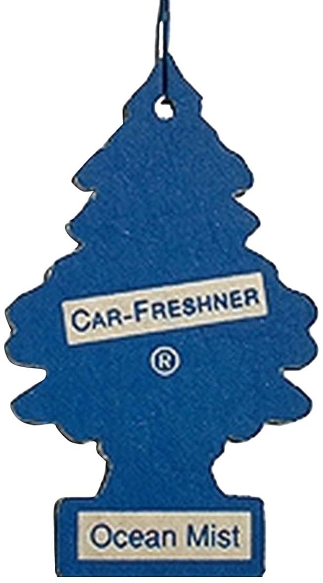 ふりをする速報合理化Little Trees 吊下げタイプ エアーフレッシュナー オーシャンミスト 5枚セット(5P)
