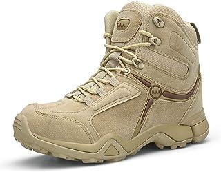 Hommes à Lacets Bottes Militaires Bottes de randonnée Bottines Force spéciale Tactique désert Combat Bottines armée Travai...