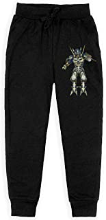 Xinding Boys Casual Training Sweatpants Bull Suitable for Sport Mascot Adjustable Waist Trousers with Pocket