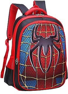 Children School Backpacks Spider Lightweight Students Bag For Boy 5-12 Years Old