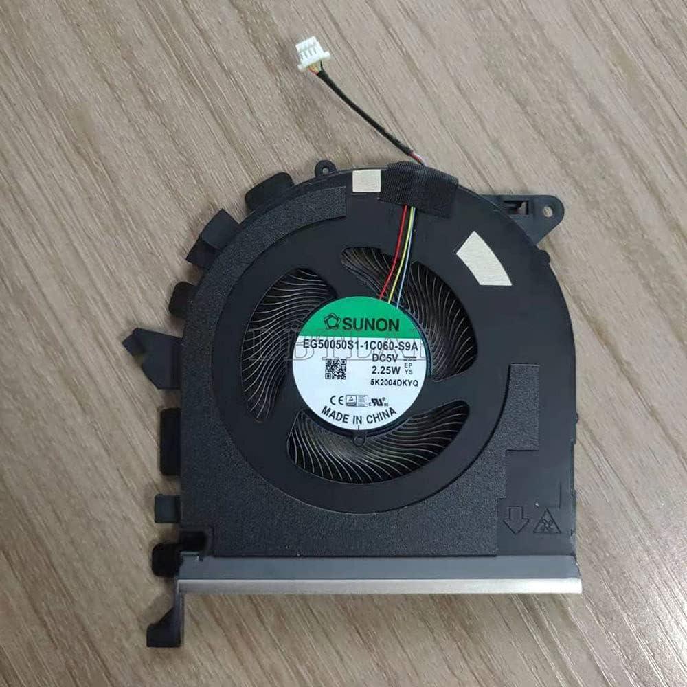 DBTLAP Laptop Cooler CPU Ventilador para HP ZBook Studio G7 2020 EG50050S1-1C060-S9A DC5V 2.25W 4PIN