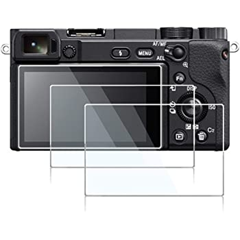 Screen Protector Compatible Sony Alpha A6400 A6100 A6300 A6600 Mirrorless Digital Camera,debous Anti-Scratch Tempered Glass Clera Hard Protective Film Shield Cover (3pcs)