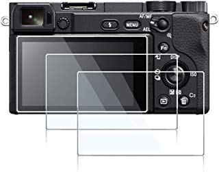 Screen Protector Compatible Sony Alpha A6400 Mirrorless Digital Camera,debous Anti-Scratch Tempered Glass Clera Hard Protective Film Shield Cover (3pcs)