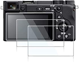 Screen Protector Compatible Sony Alpha A6400 A6600 Mirrorless Digital Camera,debous Anti-Scratch Tempered Glass Clera Hard Protective Film Shield Cover (3pcs)