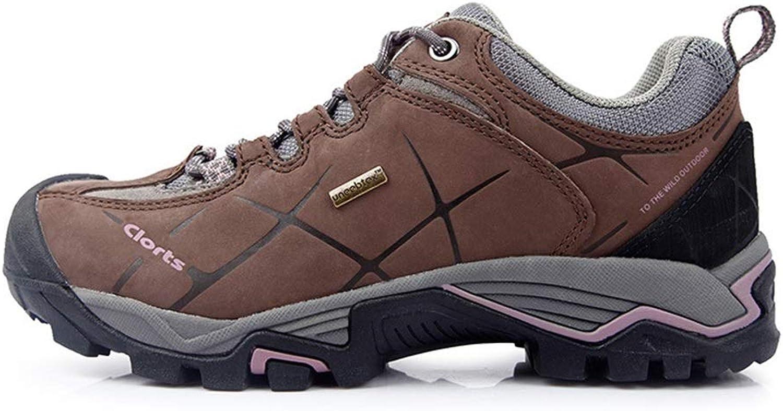 huge discount 497ad 1f733 Qiusa Echtes Echtes Echtes Leder Schuhe für Männer Wasserdichte  Rutschfeste Durable Soft Sole Shock Absorbierende Schuhe (Farbe : Braun, ...