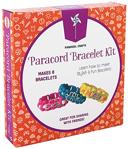 Paracord Charm Bracelet Making Set:...
