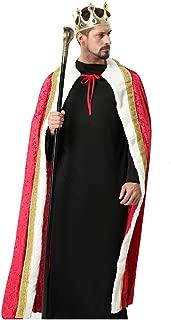 Halloween Costumes Cape Velvet King Queen Regal Robe Costume Burgundy