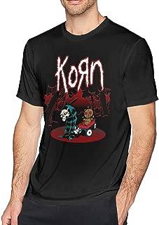 Mens Fashion Korn Tshirts Black