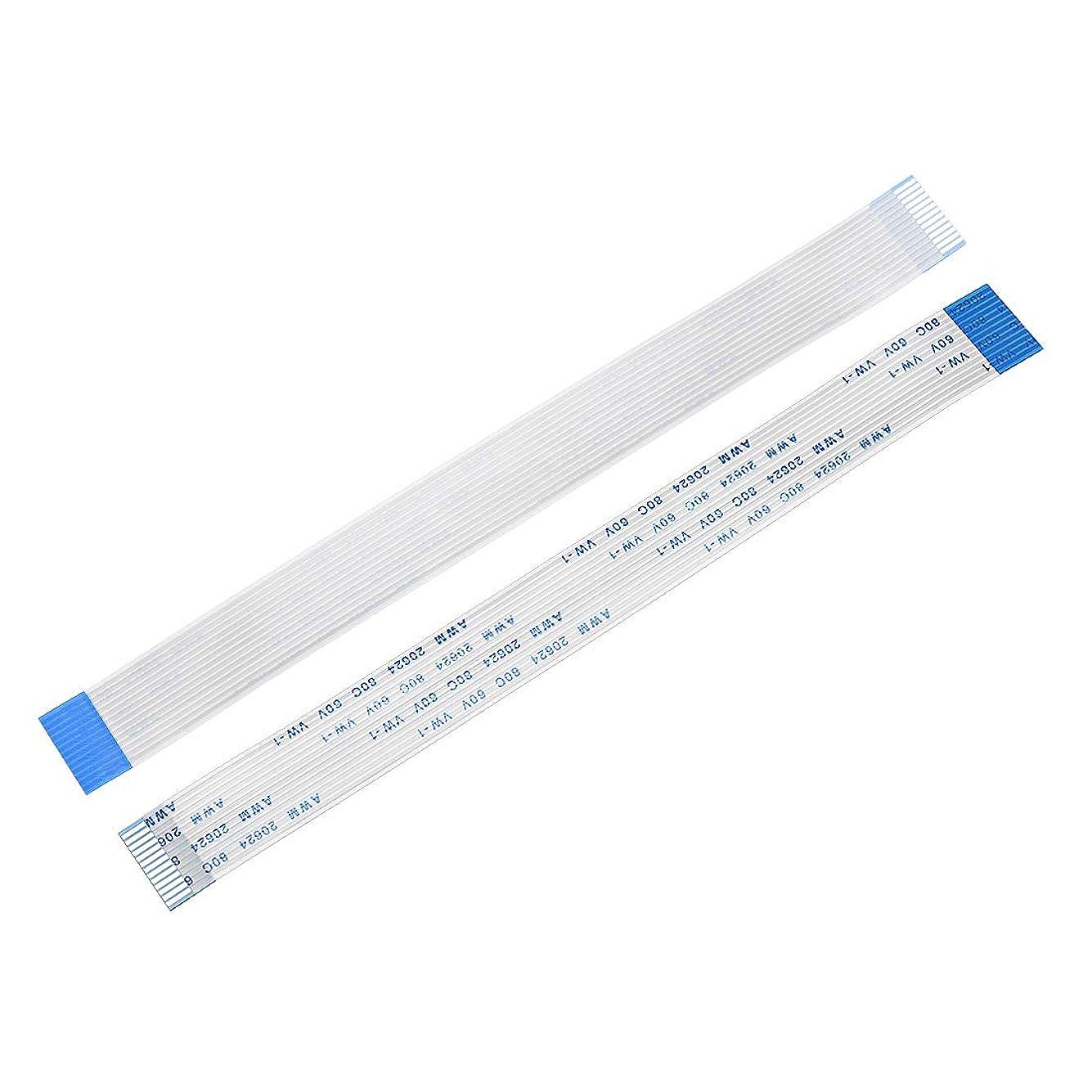 みなさん割り当て金銭的uxcell フレキシブルフラットケーブル 13ピン ピッチ1mm 長さ150mm リボンフラットケーブル 10個入り