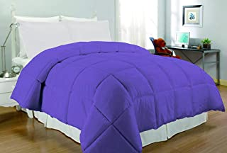 South Bay Microfiber Down Alternative Comforter (Full/Queen, Purple)