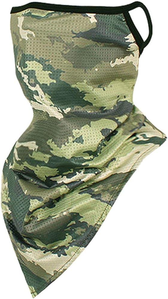 LANKMEI Bandanas for Neck Gaiter Face Mask Balaclava Reusable Washable Cloth for Men Women