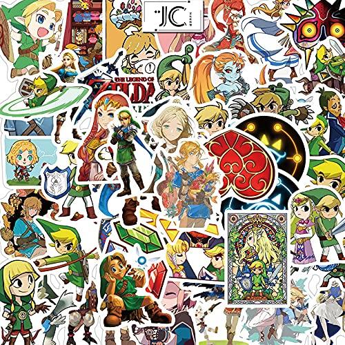 XINHENG Zelda Cartoon adesivi 100 pz/lotto Graffiti Valigia Trolley Moto Valigia portatile impermeabile adesivo rimovibile
