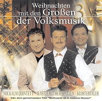 Weihnachten mit den Großen 3 der Volksmusik