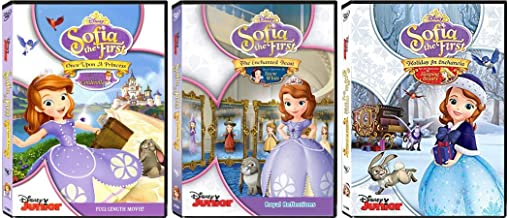 Sofia the First: Disney Junior TV Series and Movie - Royal Princess 3 DVD Collection