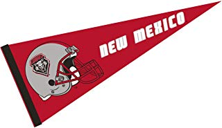 College Flags and Banners Co. New Mexico Lobos Football Helmet Pennant