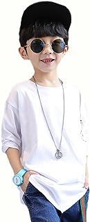 SHUNYI Tシャツ ボーイズ 春 入園式 卒業式 カジュアル クルーネック コットン トレーナーシャツ お出かけ ブラウス 子供服