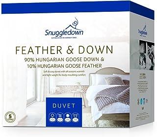 Snuggledown 90% Hungarian Goose Down All Season Duvet | Quilt King & Queen Size (King)