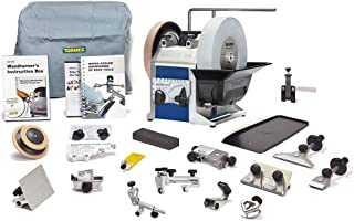 Tormek Sharpening System Magnum Bundle TBM803 T-8. A Complete Water Cooled Sharpener With 13 Popular Jigs and Accessories
